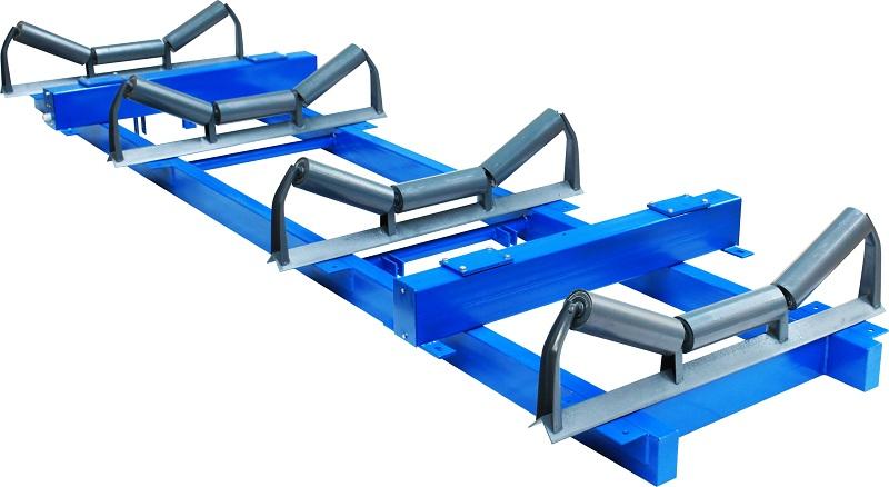 鹅卵石生产线的皮带输送机应用