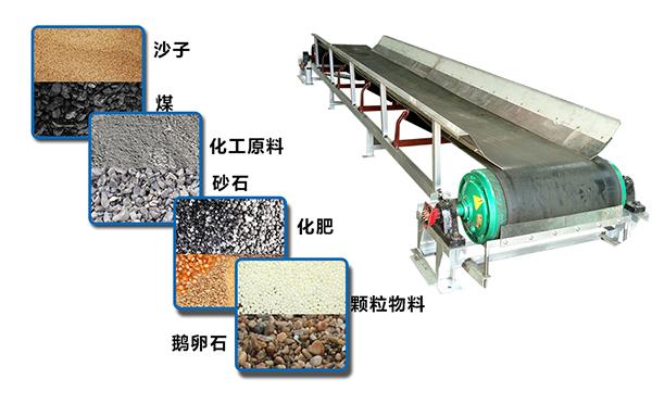 矿山皮带输送设备介绍及皮带机的使用范围