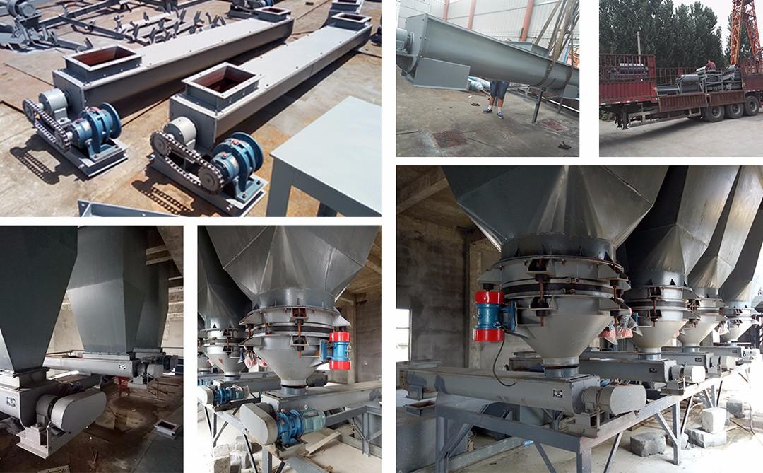 GX型圆管螺旋输送机