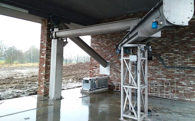 绞龙输送机工程中安装施工注意事项