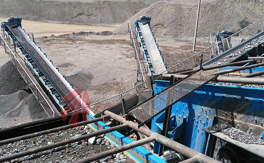 矿山皮带输送机械设备的应用领域