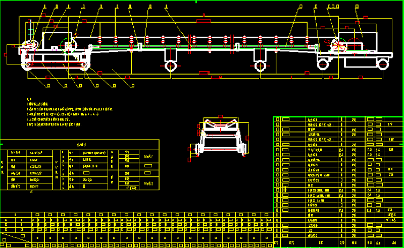 可逆移动配仓带式输送机的工作原理